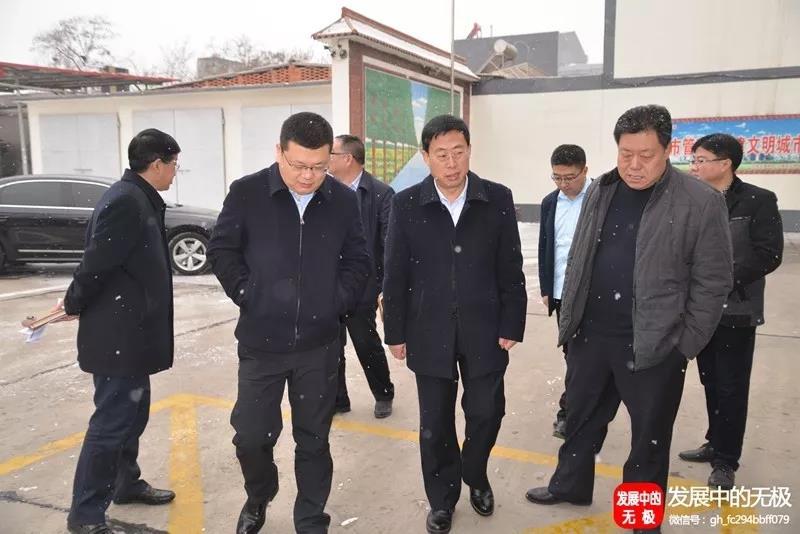 县委书记吕智临到住房和城乡建设局、城市管理综合行政执法局进行调研