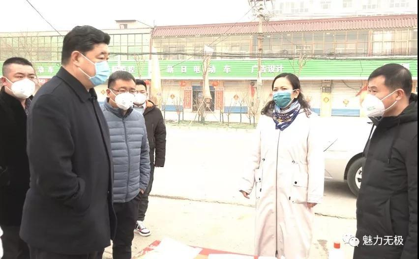 县长王勇军督导疫情防控工作